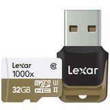 32 GB Lexar Professional 1000x microSDHC Class 10 U3 Retail inkl. USB-Adapter