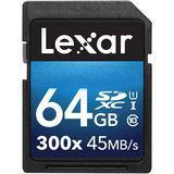 64 GB Lexar Premium II SDXC 300x Class 10 U1 Retail