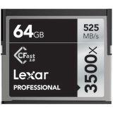 64 GB Lexar Professional CFast TypII 3500x Retail