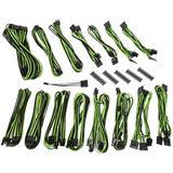 BitFenix Alchemy 2.0 PSU Cable Kit, EVG-Series - schwarz/grün