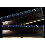 16GB Avexir Core Series blaue LED DDR4-2400 DIMM CL16 Dual Kit