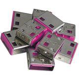 Lindy 10 USB Portschlösser ROT Erweiterungskit für 40450