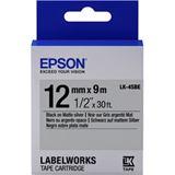 Epson Tape LK4SBE MATTE BLK/