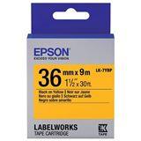 Epson Farbband pastell schwarz/gelb 36mm