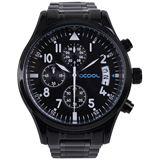 Alphacool Armbanduhr - schwarz