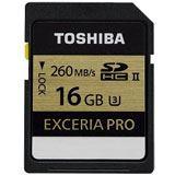 16 GB Toshiba Exceria Pro N101 SDHC Class 10 UHS-II U3 Retail