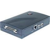 Longshine LCS-PS112 1x parallel/2x USB/100-Mbit