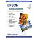 Epson Archival Matte Papier Fotopapier 29.7x21 cm (50 Blatt)