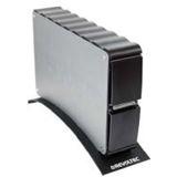 "3.5""(8,89cm) Revoltec Alu Guard SATA/eSATA USB 2.0 Schwarz"