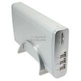 "3.5""(8,89cm) Fantec LD-U35U2-S Alu SATA USB 2.0 Silber"