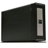 """D-Link Gigabit Storage DNS-313 NAS System 3,5"""" SATA II HDD Schwarz"""