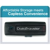 4GB Kingston DataTraveler 100 Schwarz USB 2.0 Stick