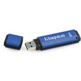 8 GB Kingston DataTraveler Vault Privacy Edition blau USB 2.0