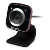 Microsoft Web Kamera LifeCam VX-5000 0.3 MPixel 640x480 Schwarz/Rot USB 2.0