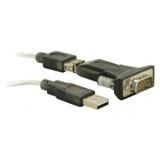 Delock Adapter USB zu Seriell 9-polig schwarz