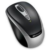 Microsoft Wireless 3000 Mobile Optische Maus Schwarz USB
