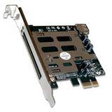 """Digitus DS-30401 ExpressCard"""" zu PCI Express Adapter-Karte"""