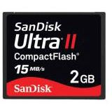 2GB SanDisk SDCFH-002G-E11 Ultra II CompactFlash CF Karte