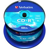 Verbatim CD-R 700 MB 50er Spindel (43351)