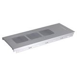 Lian Li T-713A Top-Cover für PC-A71 - silver