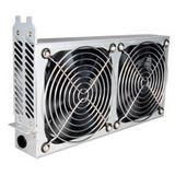 Lian Li PCI Cooling Kit silber 2x 120mm Lüfter für Gehäuse (BS-08A)