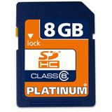 8 GB Platinum BestMedia SDHC Class 6 Retail