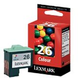 Lexmark Druckkopf 010N0026E cyan, magenta, gelb