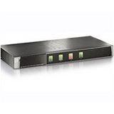 LevelOne KVM-0410 4-fach Rackmount KVM-Switch