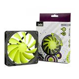 Coolink SWiF2-120P 120x120x25mm 800-1700 U/min 9-27 dB(A) schwarz/grün