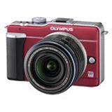 Olympus Pen E-PL1 14-42mm Spiegelreflex Rot Kit