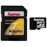 16 GB Hama Standard microSDHC Class 2 Retail inkl. Adapter