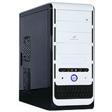 ATX Cooltek K-Series K2 White Edition Rev.B Midi Tower o.NT Weiß/Schwarz