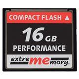 16 GB Extrememory Performance Compact Flash TypI 120x Bulk
