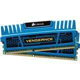 4GB Corsair Vengeance blau DDR3-1600 DIMM CL9 Dual Kit
