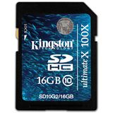 16 GB Kingston Ultimate X SDHC Class 10 Bulk