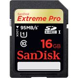 16 GB SanDisk Extreme Pro SDHC Class 10 Retail