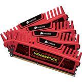8GB Corsair Vengeance Red DDR3-1600 DIMM CL8 Quad Kit