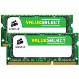 16GB Corsair ValueSelect DDR3-1333 SO-DIMM CL9 Dual Kit