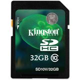 32 GB Kingston Standard SDHC Class 10 Bulk