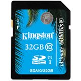 32 GB Kingston UHS-I SDHC Class 10 Retail