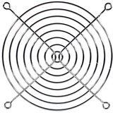 Cooltek Lüftergitter für 120mm Lüfter silber (Gitter 120)