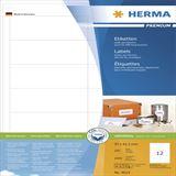 Herma 4623 Premium Universal-Etiketten 9.7x4,23 cm (200 Blatt (2400 Etiketten))