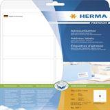 Herma 5077 Premium Adressetiketten 9.91x6.67 cm (25 Blatt (200 Etiketten))