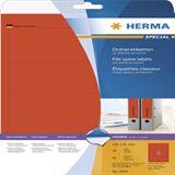 Herma 5097 rot Ordneretiketten 19.2x6.1 cm (20 Blatt (80 Etiketten))