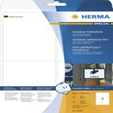 Herma 9534 Outdoor Klebefolie 9.91x1.39 cm (10 Blatt (40 Etiketten))