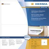 Herma 10314 ablösbar Universal-Etiketten 19.96x14.35 cm (100 Blatt (200 Etiketten))