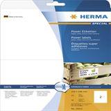 Herma 10910 extrem stark haftend Universal-Etiketten 21x14.8 cm (25 Blatt (50 Etiketten))