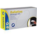 AF International Safetiss Schachtel mit 200 Papiertüchern 25 x 25cm