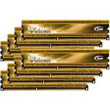 64GB TeamGroup Vulcan Series gold DDR3-1600 DIMM CL9 Octa Kit