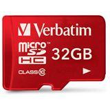 32 GB Verbatim Tablet microSDHC Class 10 Retail inkl. Adapter auf SD